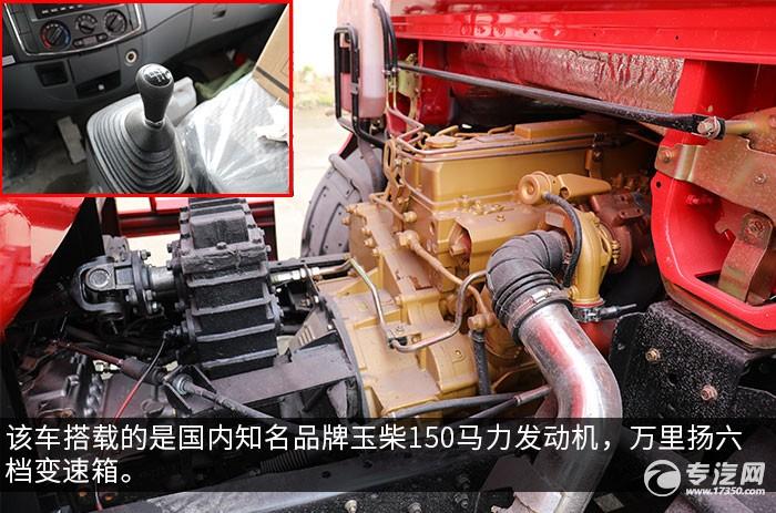 东风大多利卡D7国五6.7方消防洒水车发动机