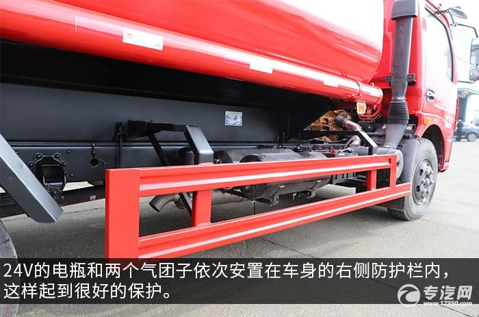 东风大多利卡D7国五6.7方消防洒水车电池图
