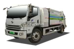 躍進E500純電動壓縮式垃圾車