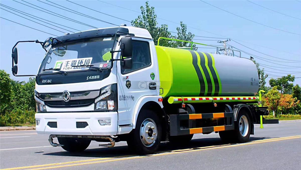 东风凯普特K7国六7.4方洒水车图片