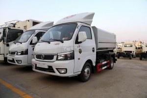 东风途逸国六自装卸式垃圾车图片