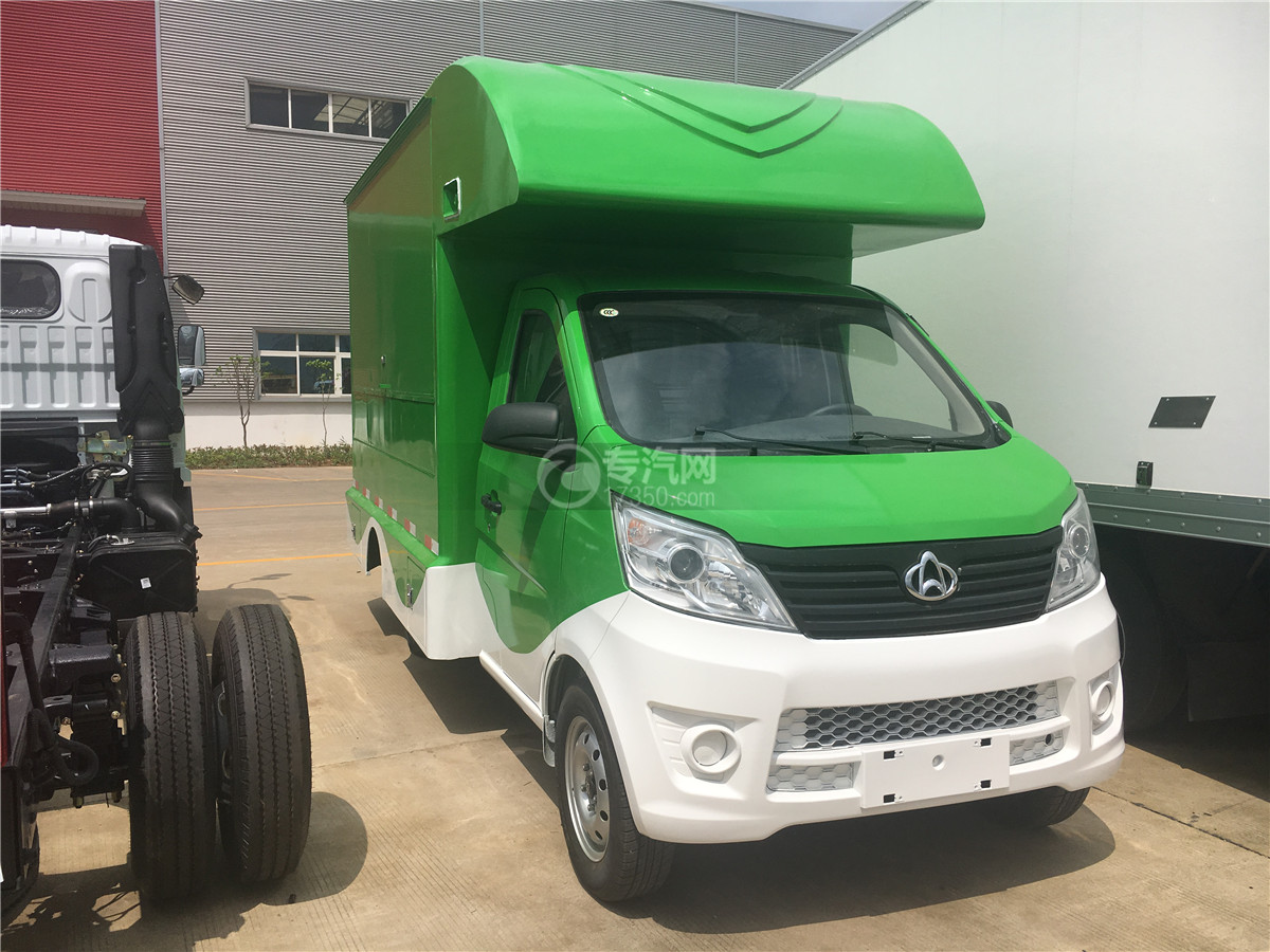 長安移動售貨車(綠色)圖片