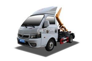 东风途逸国六车厢可卸式垃圾车