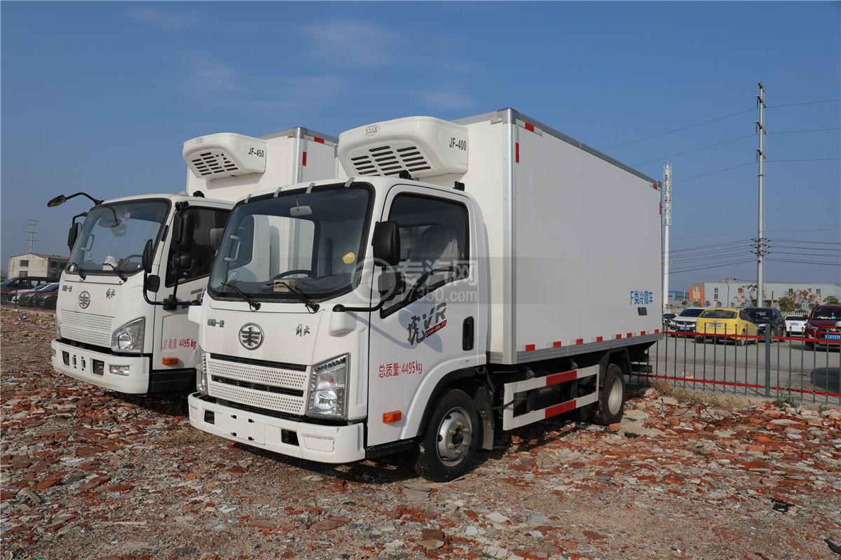 解放虎VR国五4.13米冷藏车