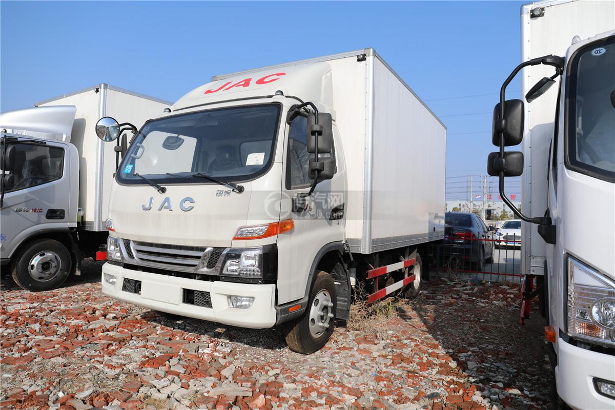 江淮骏铃V6国六4.015冷藏车