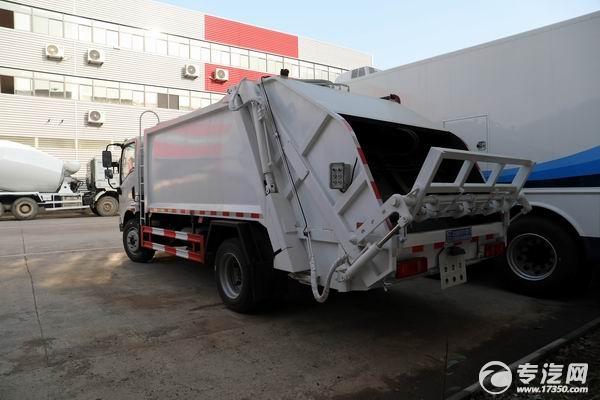 东风华神T1后装压缩式垃圾车