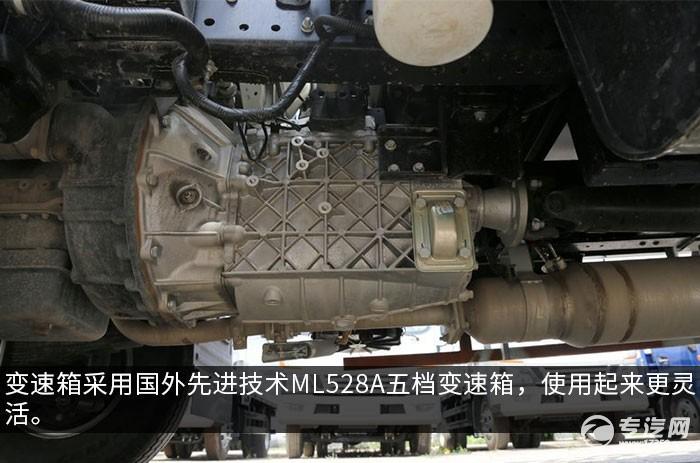 江淮骏铃V6国六4.015冷藏车变速箱