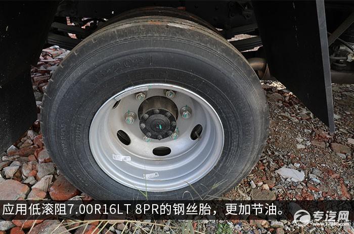 江淮骏铃V6国六4.015冷藏车轮胎