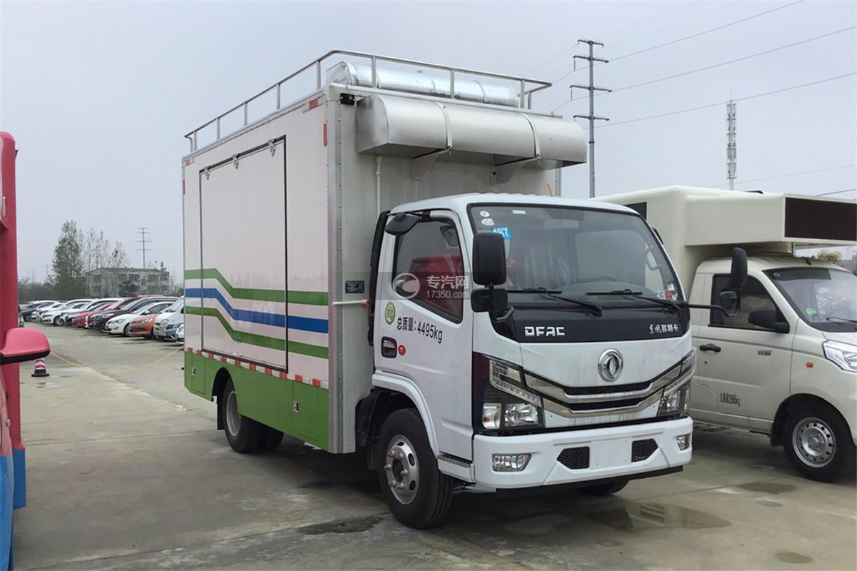 东风小多利卡国六餐车图片