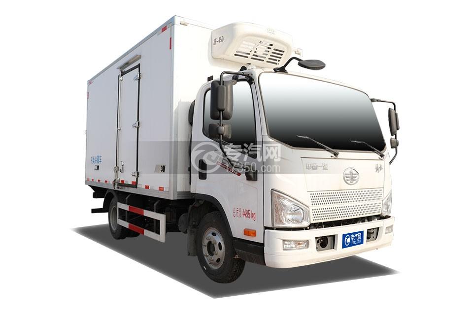 解放J6F国六4.13米冷藏车