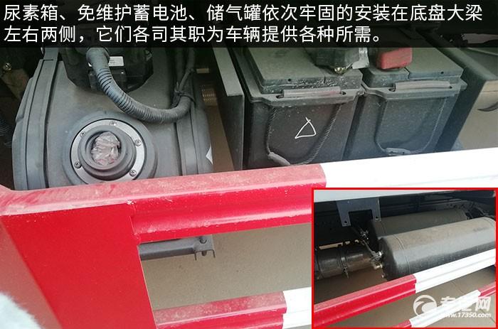 东风多利卡D6国六压缩式垃圾车评测尿素箱