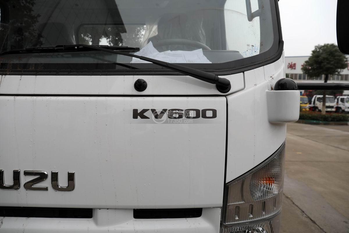 五十铃KV600一拖二清障车细节