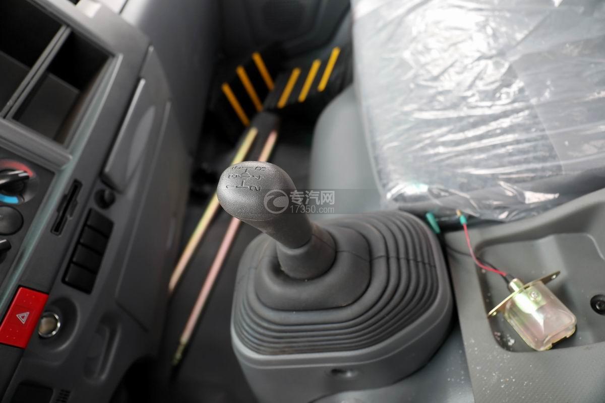 五十铃KV600一拖二清障车档位操作杆