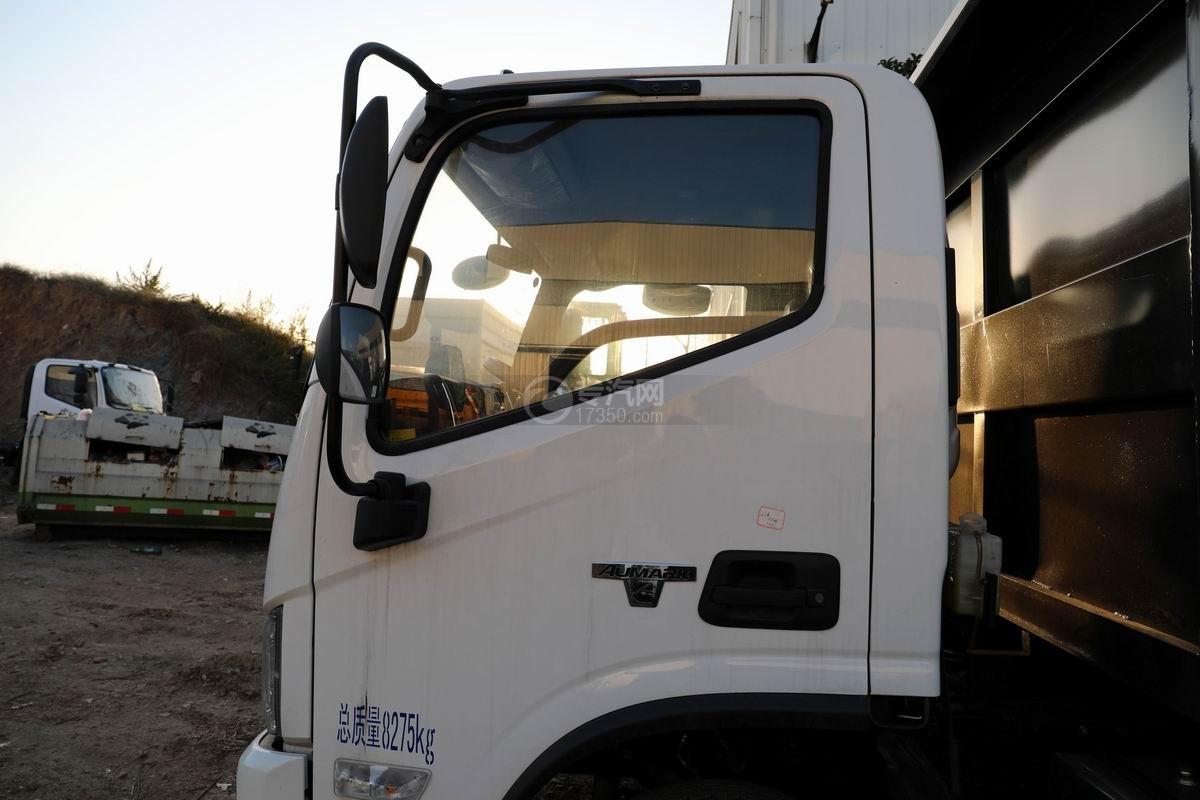 福田欧马可S3国六对接式垃圾车外观驾驶室图