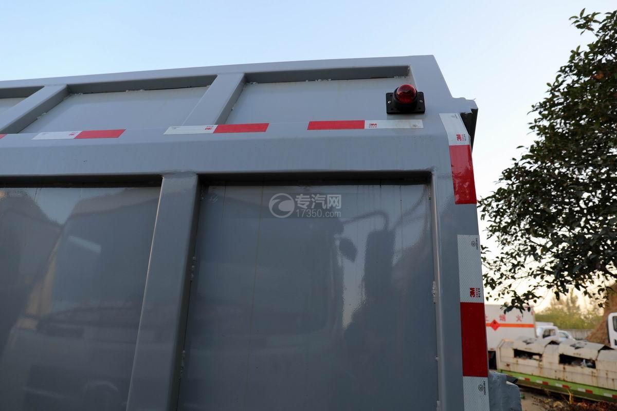福田欧马可S3国六对接式垃圾车上装细节