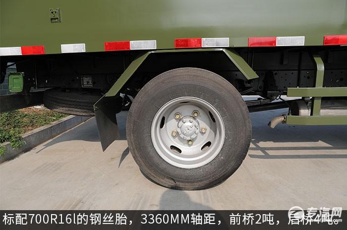 庆铃五十铃4.15米防爆车轮胎图
