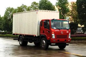 大运奥普力排半国六6.8米厢式货车