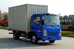 大运奥普力单排国六4.18米越野型厢式货车