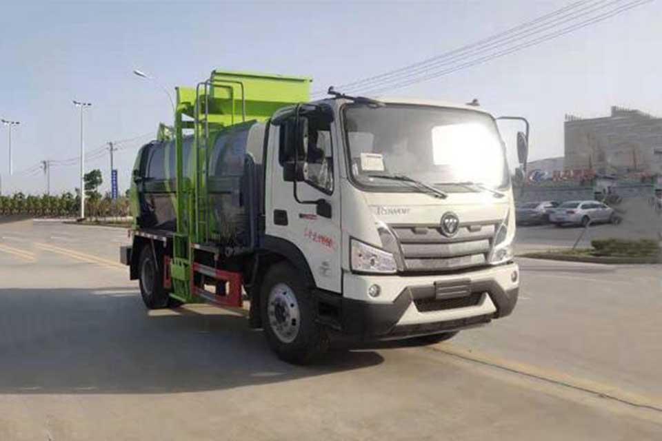 福田歐馬可S5國六餐廚式垃圾車