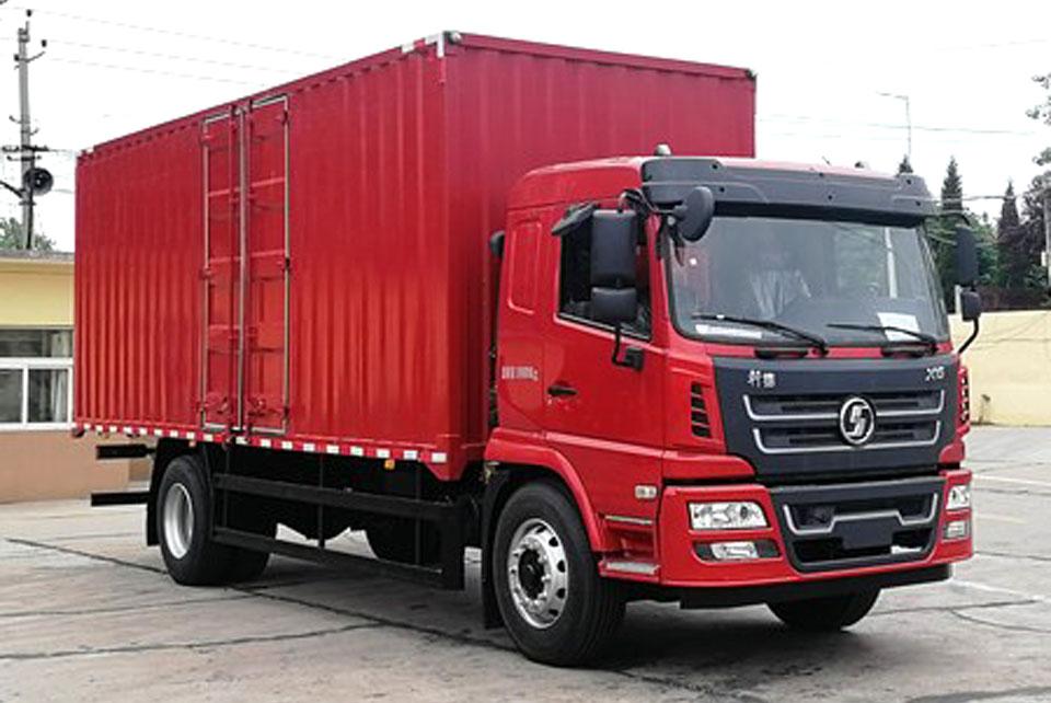 陜汽軒德X6單橋國六7.75米廂式貨車