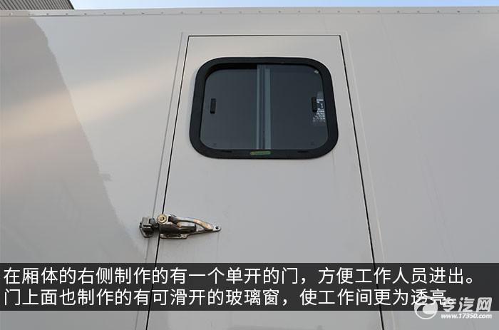 东风天龙KL后双桥国六餐车门窗