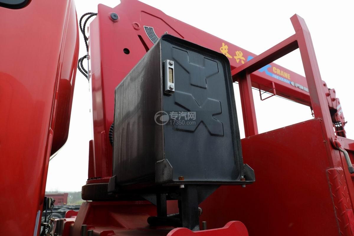 湖北大运运途单桥5吨直臂随车吊液压油箱