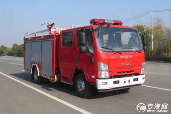 消防车的妙用——充当临时消毒车