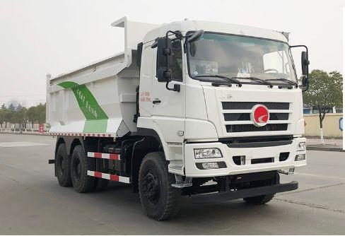 华菱•长征LNG自卸式垃圾车简介