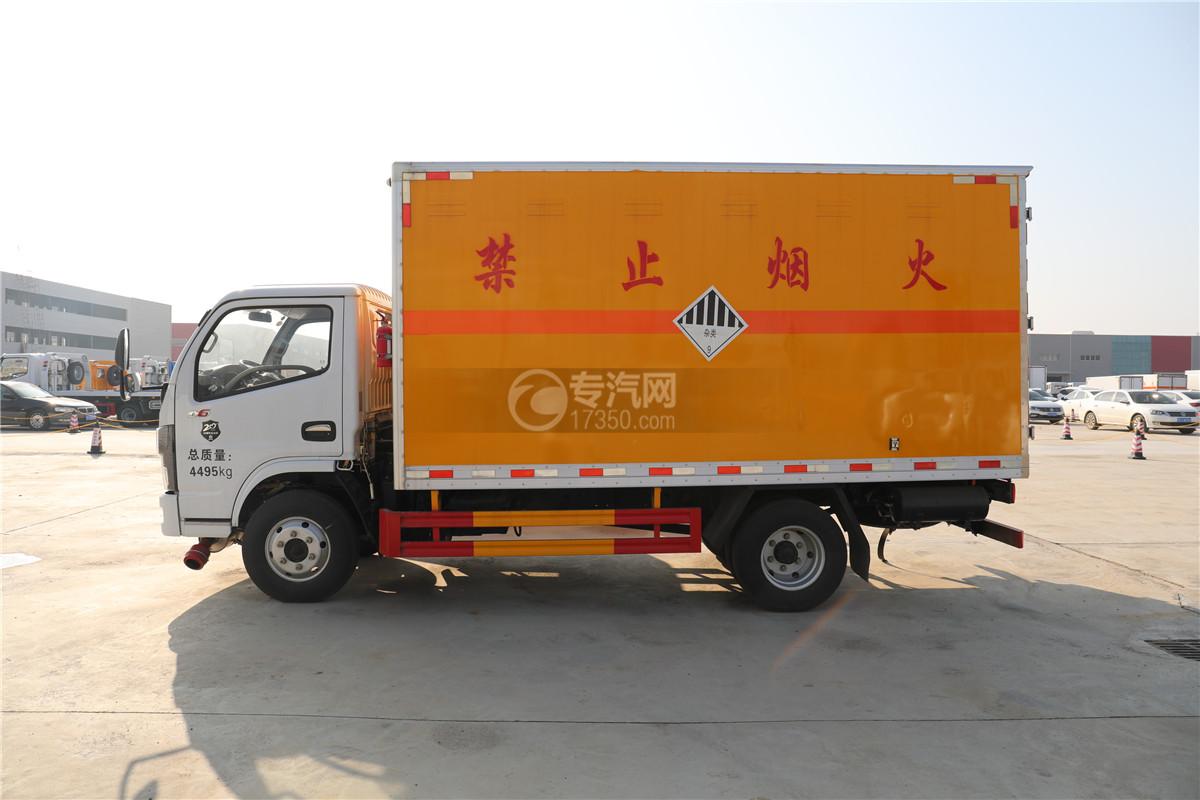 東風小多利卡D6國六雜項危險物品廂式運輸車左側圖