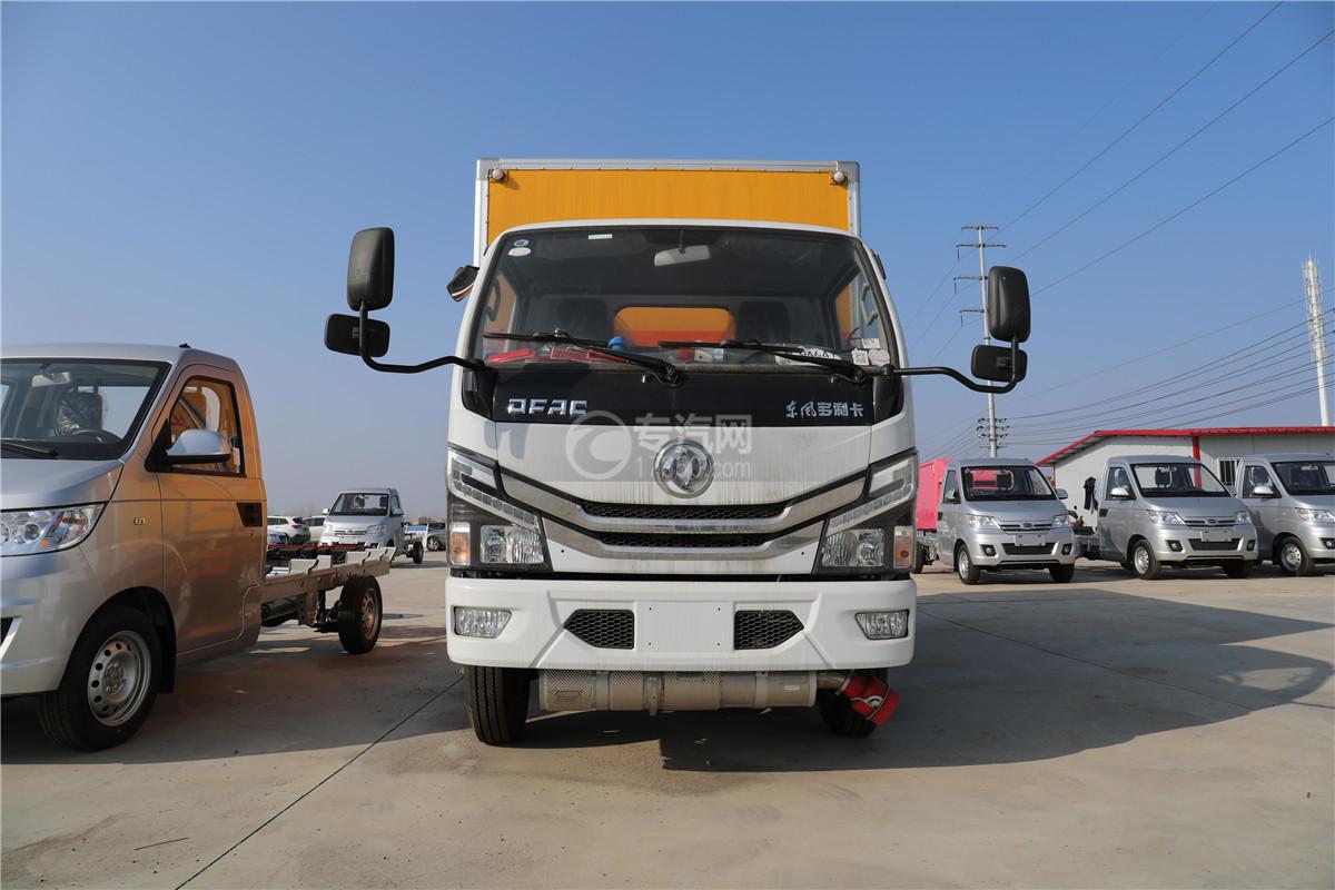 東風小多利卡D6國六雜項危險物品廂式運輸車車前圖