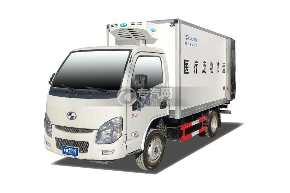 跃进小福星国六3.2米医疗废物转运车