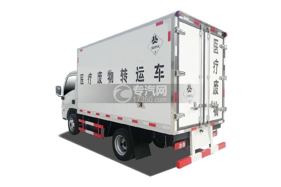 躍進小福星國六3.2米醫療廢物轉運車左后圖