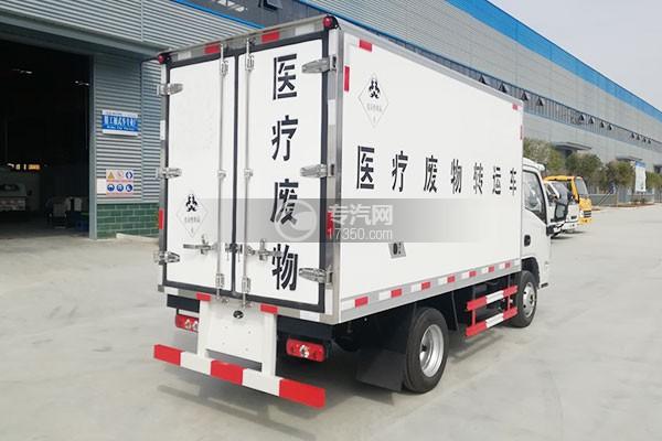 躍進小福星國六3.2米醫療廢物轉運車右后圖