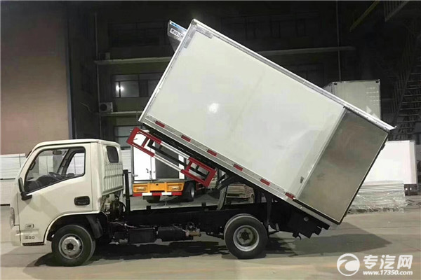 江铃顺达国五4.15米医疗废物转运车左侧图