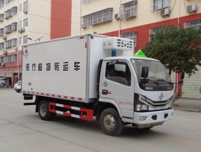 东风多利卡国六4.1米医疗废物转运车