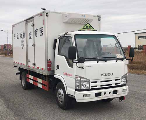慶鈴五十鈴國五4.18米醫療廢物轉運車