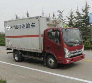 福田奥铃国五4.085米医疗废物转运车