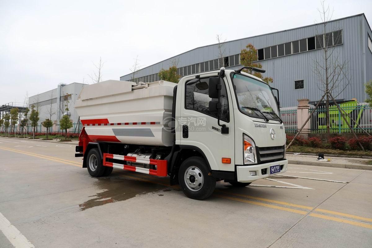 大運奧普力國六自裝卸式垃圾車