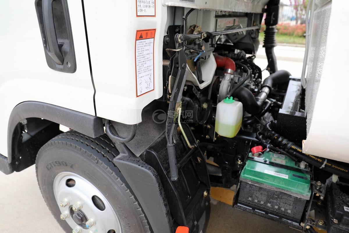 大运新奥普力国六自装卸式垃圾车翻转机构