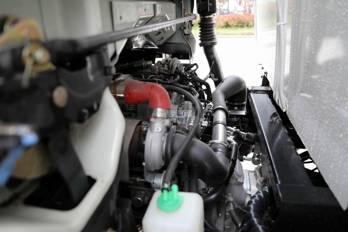 大运新奥普力国六自装卸式垃圾车发动机