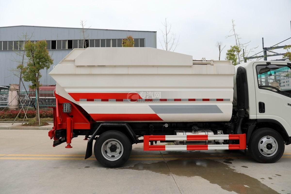 大運新奧普力國六自裝卸式垃圾車箱體