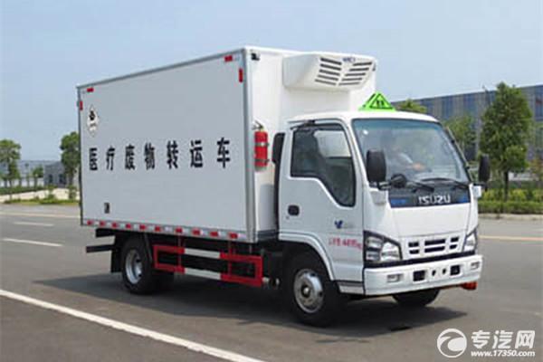 輕卡王 慶鈴五十鈴國五4.18米醫療廢物轉運車