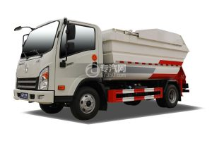 大運新奧普力國六自裝卸式垃圾車