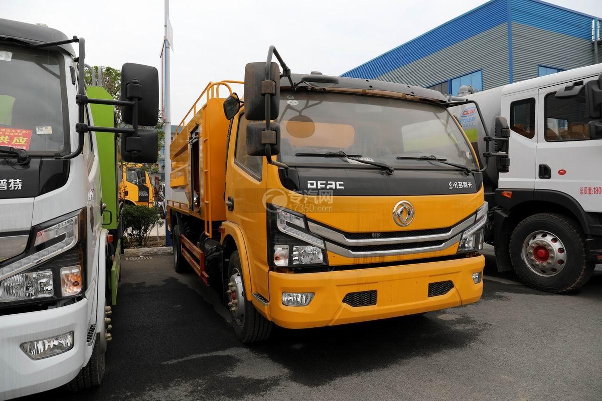 東風多利卡D7國六清洗吸污車