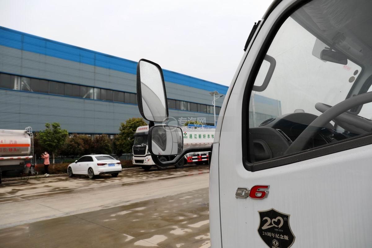 东风多利卡D6国五4.48方加油车后视镜