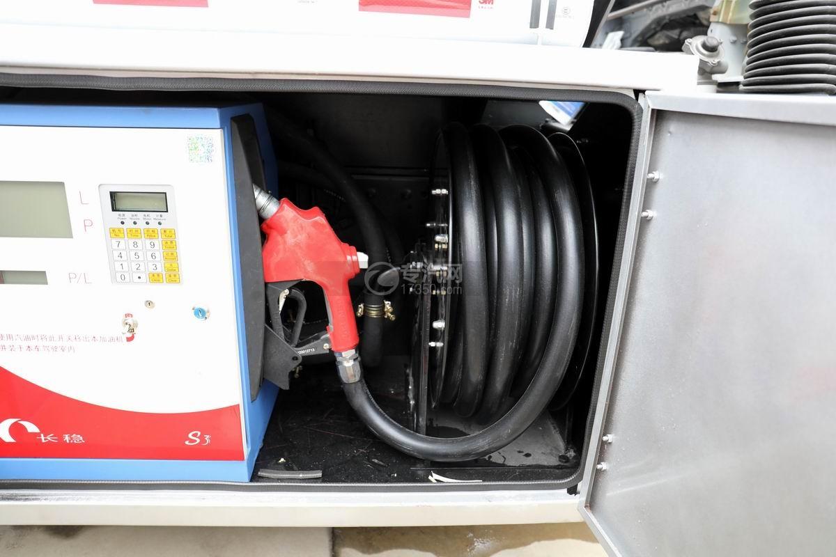 东风多利卡D6国五4.48方加油车加油机卷盘