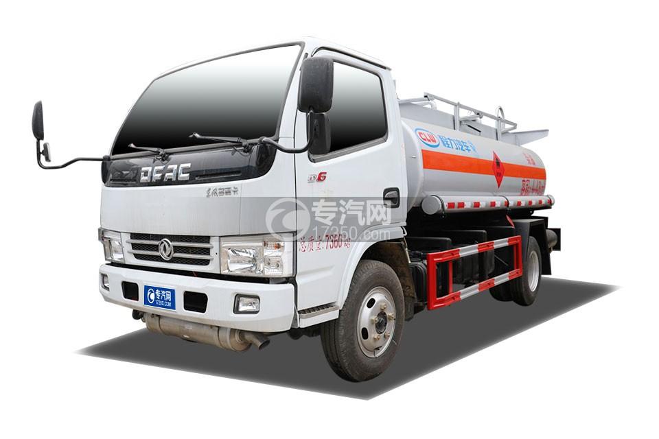 东风多利卡D6国五4.48方加油车