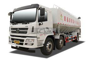 陕汽轩德X6小三轴国五散装饲料运输车