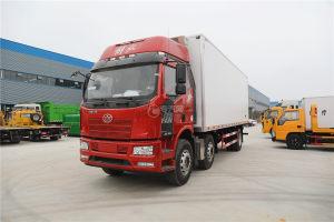 解放J6小三轴国五8.7米冷藏车图片