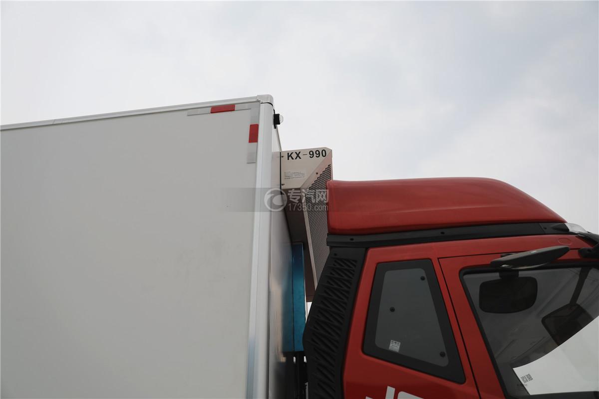 解放J6小三轴国五8.7米冷藏车冷藏机组